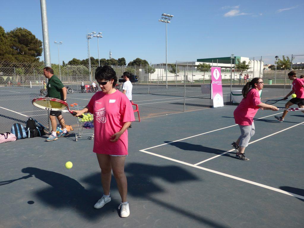 Campeonato de tenis adaptado