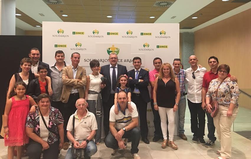 Premios Solidarios Aragón ONCE 2016