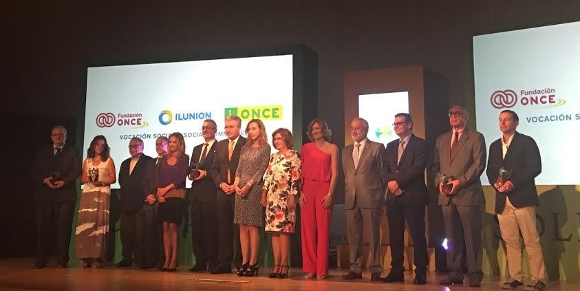 Premio Solidarios ONCE 2016
