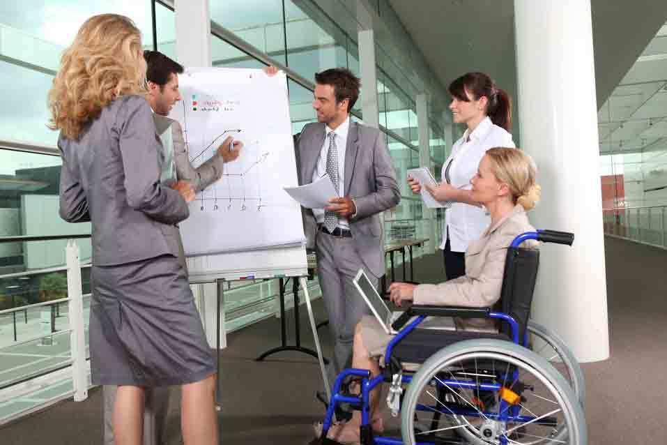 discapacidad en la empresa