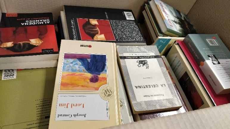 donacion libros diversis
