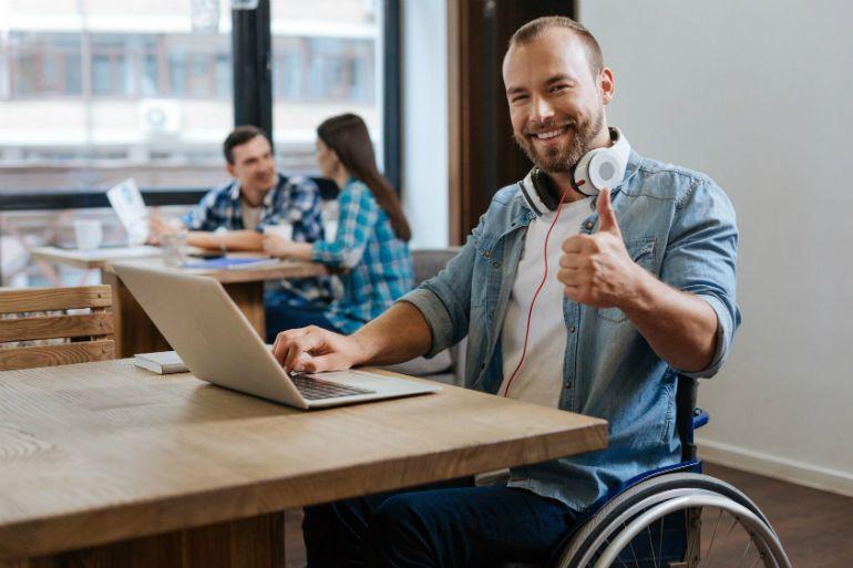 Formación para personal con discapacidad