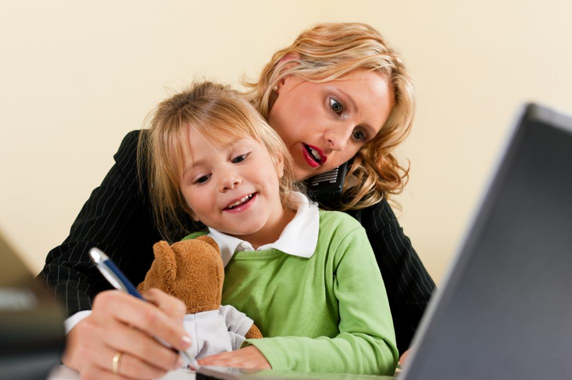 para afrontar el teletrabajo cuando tienes niños en casa